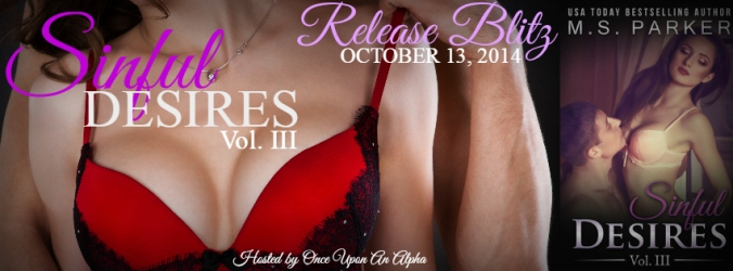 Sinful Desires III by M.S. Parker New Release